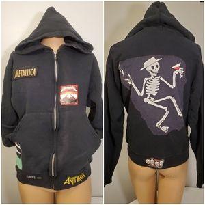 🌼HP🌼Vintage Heavy Metal Band Jacket- Metallica